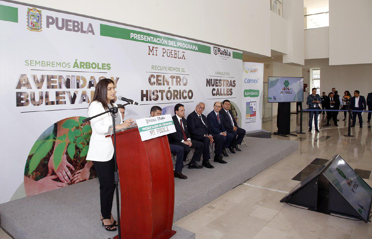 """AYUNTAMIENTO DE PUEBLA, GOBIERNO DEL ESTADO Y SOCIEDAD CIVIL PRESENTAN EL PROGRAMA """"MI PUEBLA"""""""