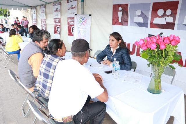 ANGÉLICA ALVARADO, LIDERA JORNADA DE ATENCIÓN MÉDICA DENTAL Y CIUDADANA EN LA CABECERA MUNICIPAL DE HUEJOTZINGO