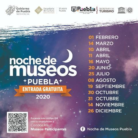 ANUNCIAN 1RA EDICIÓN DE NOCHE DE MUSEOS 2020