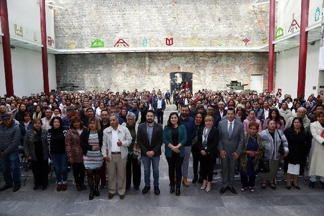 CONTINÚA CONSTRUCCIÓN DE LA PAZ VECINAL EN EL MUNICIPIO DE PUEBLA