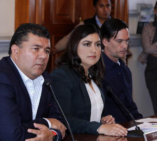 ANUNCIA CLAUDIA RIVERA CAMBIOS EN EL GABINETE MUNICIPAL