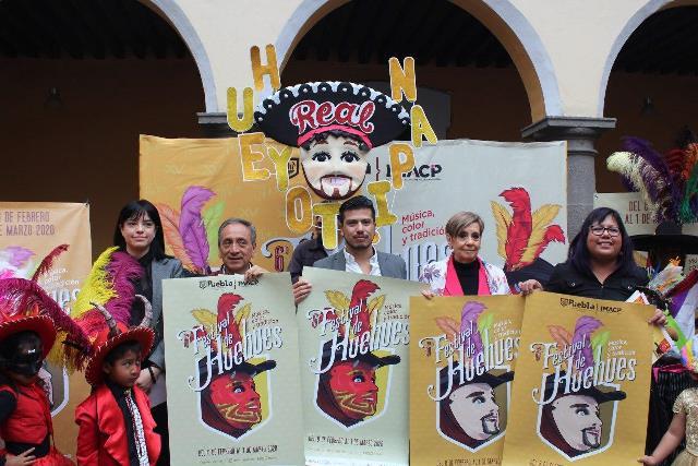 MÚSICA, COLOR Y TRADICIÓN EN EL 6TO. FESTIVAL DE HUEHUES EN PUEBLA