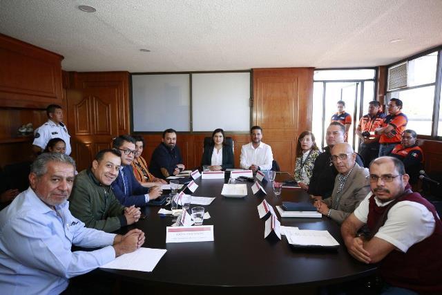 DIAGNÓSTICO, PREVENCIÓN Y MITIGACIÓN DE RIESGOS, TRABAJOS DE LA PRIMERA MESA DEL COMITÉ DE LLUVIAS 2020
