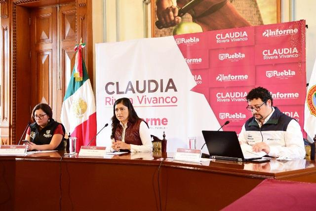 AYUNTAMIENTO DE PUEBLA AUMENTA A 32 CUADRILLAS ANTI BACHES; REGRESA EL BACHERO EXPRESS