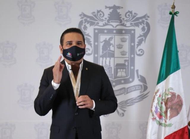 ANUNCIA SILVANO AUREOLES INICIATIVA PARA USO OBLIGATORIO DE CUBREBOCAS, EN EL ESTADO DE MICHOACÁN