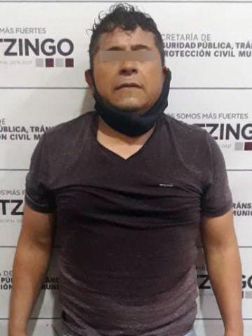 EN ACCIÓN OPORTUNA, FRUSTRAN POLICÍAS DE HUEJOTZINGO ROBO A CASA HABITACIÓN; DETUVIERON A UN PRESUNTO DELINCUENTE