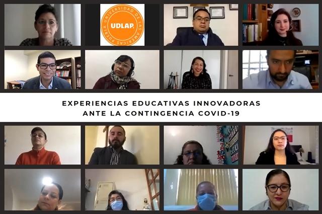 ANALIZAN EN UDLAP LAS EXPERIENCIAS EDUCATIVAS INNOVADORAS ANTE COVID-19