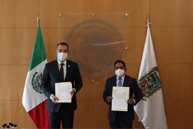 FIRMAN CONVENIO PODER JUDICIAL Y AYUNTAMIENTOS PARA CREAR JUZGADOS MUNICIPALES