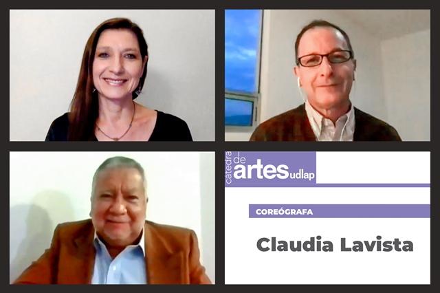 LA BAILARINA CLAUDIA LAVISTA COMPARTE SU LABOR ARTÍSTICA EN LA CATEDRA DE ARTES UDLAP