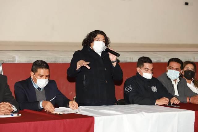 PRESIDE KARINA PÉREZ ASAMBLEA COMUNITARIA PARA LA CONFORMACIÓN DE LA DELEGACIÓN EN LA RESERVA TERRITORIAL