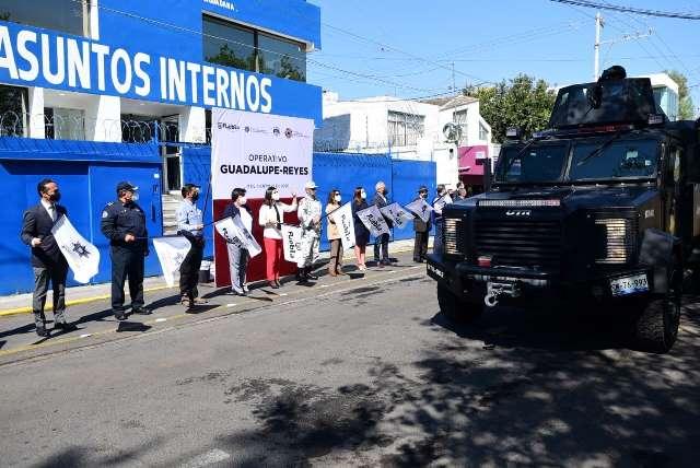 INICIA GOBIERNO DE LA CIUDAD DE PUEBLA EL OPERATIVO GUADALUPE- REYES 2020
