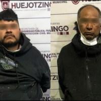 FRUSTRA POLICÍA MUNICIPAL DE HUEJOTZINGO ROBO A EMPRESA; HAY CUATRO DETENIDOS