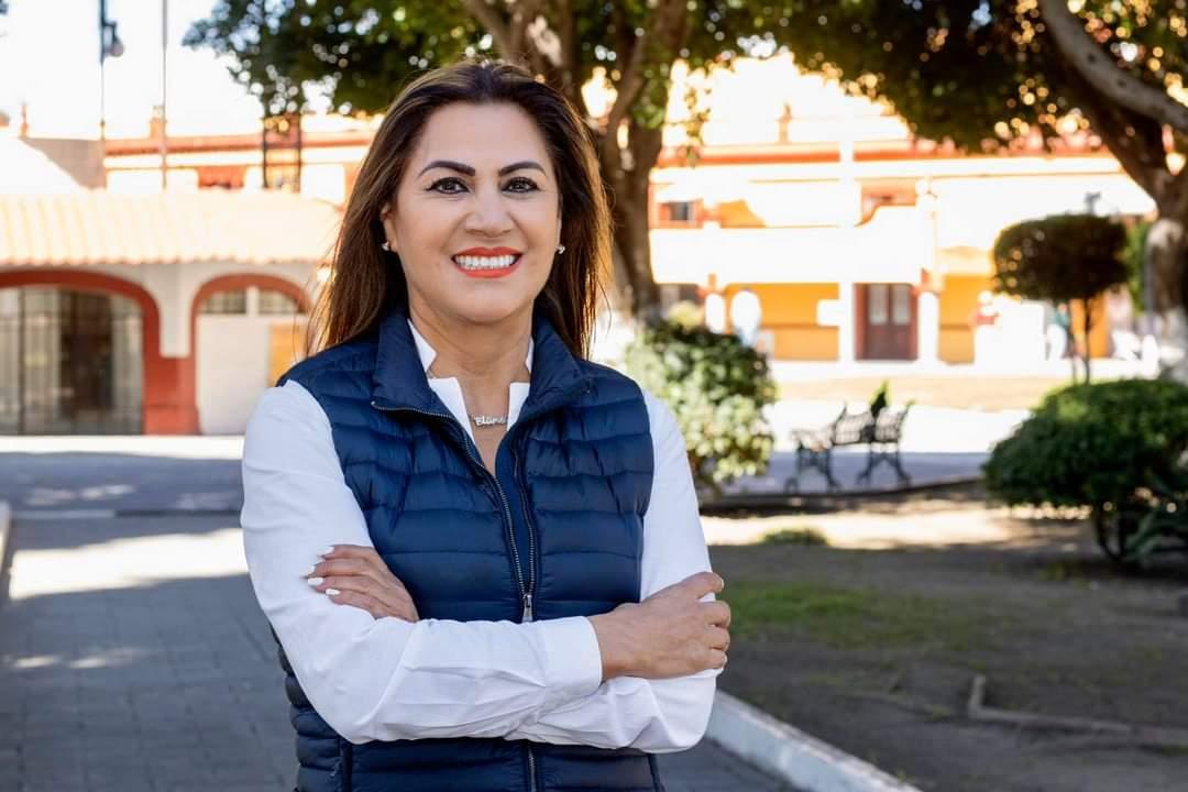 BLANCA JIMÉNEZ LISTA PARA LA CONTIENDA INTERNA DEL PAN EN SAN ANDRÉS CHOLULA