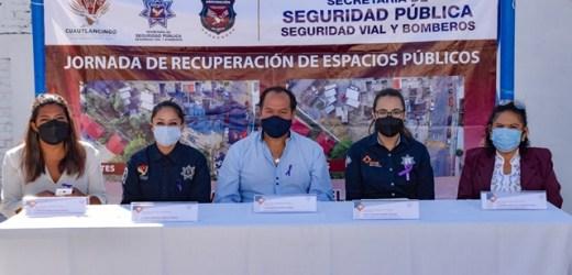 ENTREGA AYUNTAMIENTO DE CUAUTLANCINGO, ESPACIO PÚBLICO RECUPERADO EN LA UNIDAD HABITACIONAL 4 CAMINOS
