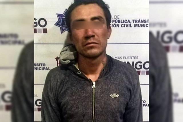 DETIENE POLICÍA MUNICIPAL DE HUEJOTZINGO A PRESUNTO AGRESOR SEXUAL