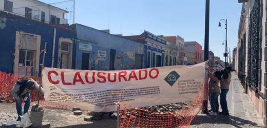 CLAUSURA DE OBRAS EN EL CENTRO HISTÓRICO FUE POR VIOLACIÓN DE CONDICIONANTES: MANRIQUE