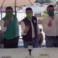 PARTIDO VERDE ECOLOGISTA DE MÉXICO PRESENTÓ A SUS CANDIDATOS EL DISTRITO DE CHOLULA