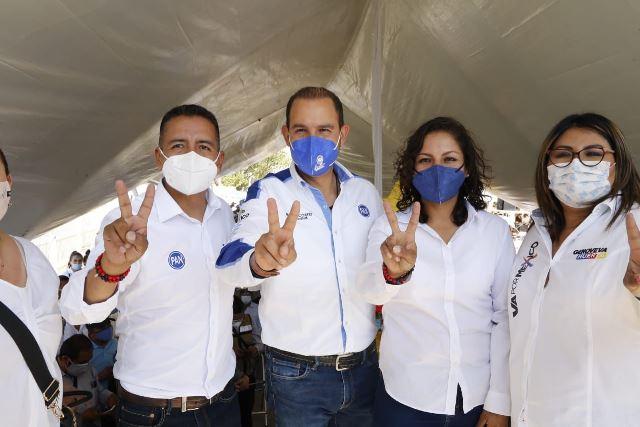 SOLUCIONES Y RESULTADOS OFRECE MUNDO TLATEHUI EN SU ARRANQUE DE CAMPAÑA A LA PRESIDENCIA MUNICIPAL DE SAN ANDRÉS CHOLULA