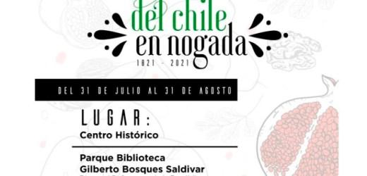 AYUNTAMIENTO DE PUEBLA PROMUEVE FESTIVAL ITINERANTE DEL CHILE EN NOGADA