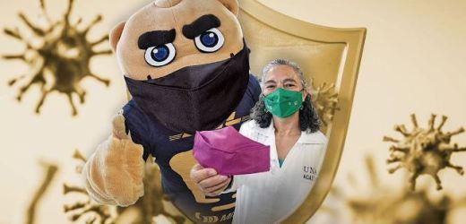 """LA UNAM CREÓ """"SAKCU"""", UN CUBREBOCAS ANTIMICROBIANO CON UN MATERIAL REUSABLE Y QUE INACTIVA AL VIRUS SARS-COV-2"""