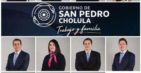MUJERES Y HOMBRES COMPROMETIDOS CON EL DESARROLLO Y BIENESTAR DEL MUNICIPIO CONFORMAN GABINETE DE SAN PEDRO CHOLULA