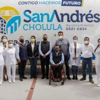 CON BRIGADAS DE SALUD, EL AYUNTAMIENTO DE SAN ANDRÉS CHOLULA ACERCA SERVICIOS A LA CIUDADANÍA