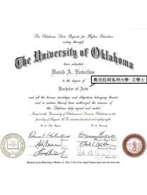 David Enterline - BA Diploma
