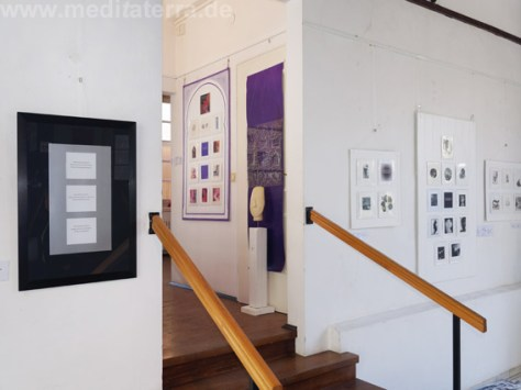 Enter into Art - exhibition in Diez, Germany - miniprint, mixed media
