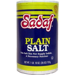 Plain Salt 26 oz.