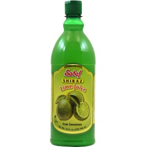 Lime Juice from Concentrate   Shiraz – 32 oz.