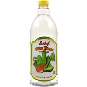 White Vinegar Distilled 100% Natural 32 oz.