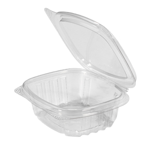 Clear Hinged Take-Out Container, AD04 – 100/CASE