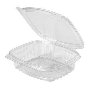 Clear Hinged Take-Out Container, AD08 – 50/CASE