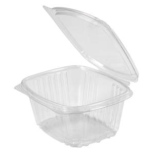 Clear Hinged Take-Out Container, AD16 – 50/CASE