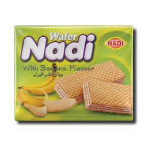 Wafer with Banana Flavour – 40gr