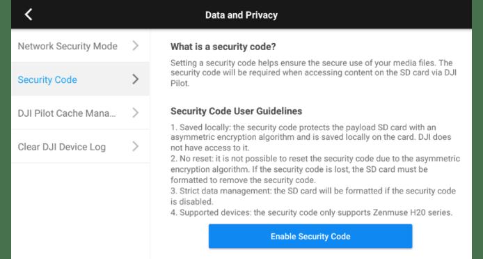 3. SD Card Encryption 1