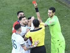MESSI HANDED ONE MATCH BAN AND $1,500 FINE FOLLOWING STATEMENT MADE AFTER HE RECEIVED A RED CARD AGAINST CHILE