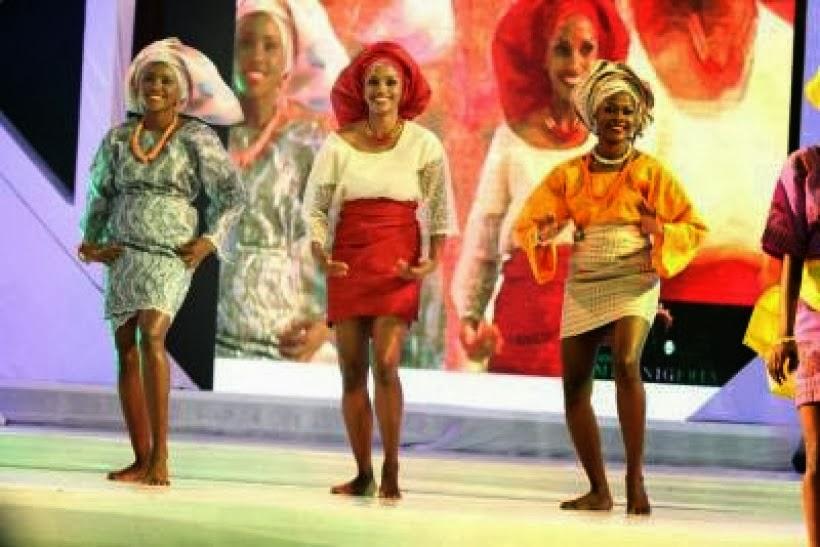 An Owambe Clothing fashion show
