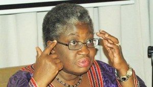 Dr. Mrs Ngozi Okonjo Iweala, Finance Minister