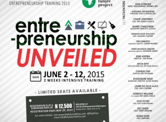 The Future Africa Project Unveils 2 Weeks Entrepreneurship Training