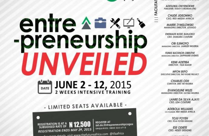 The Future Africa Project Unveils 2 Weeks Entrepreneurship Training