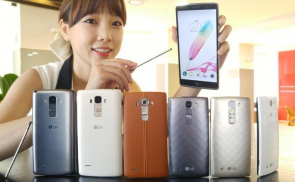 LG Imagined Smartphones Middle Class LG G4 Stylus And G4c