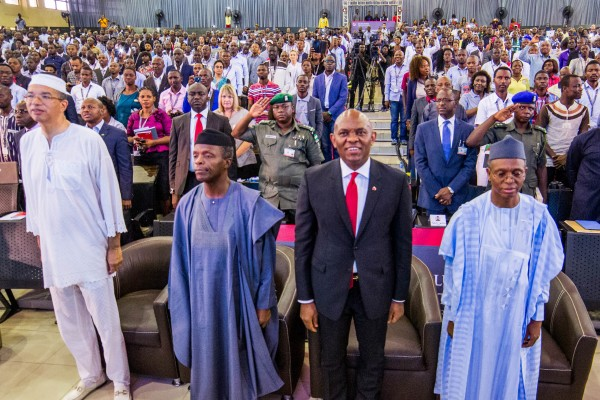 VP Yemi Osinbajo, Nasir El Rufai, Mo Abudu, 1000 Entrepreneurs Attend Tony Elumelu Entrepreneurship Program's 2-Day Boot Camp