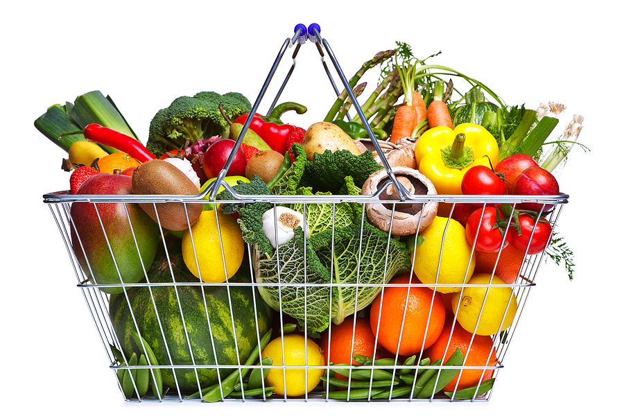 entrepreneur Shopping-Basket-Fruit-And-Vege-13789097