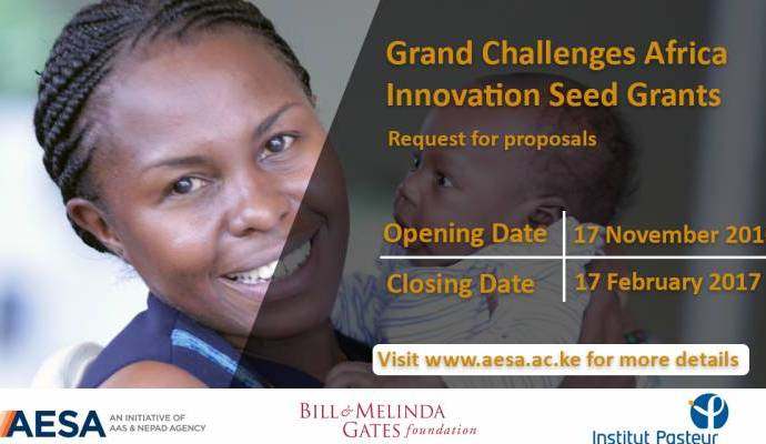 Grand Challenges Africa: Apply to win $100,000 innovation seed grant