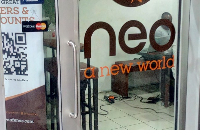 Cafe Neo founder begs visitors, 'Abeg buy our coffee don't just use our light'
