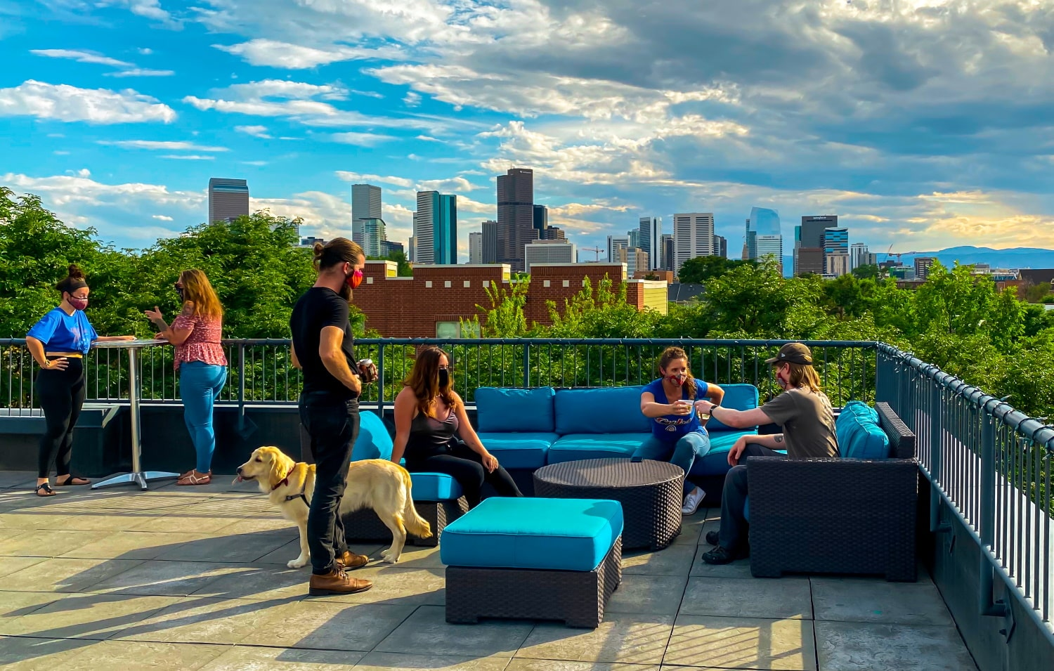 Denver rooftop event space