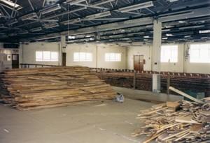 Interior of Enterprise House during the refurbishment