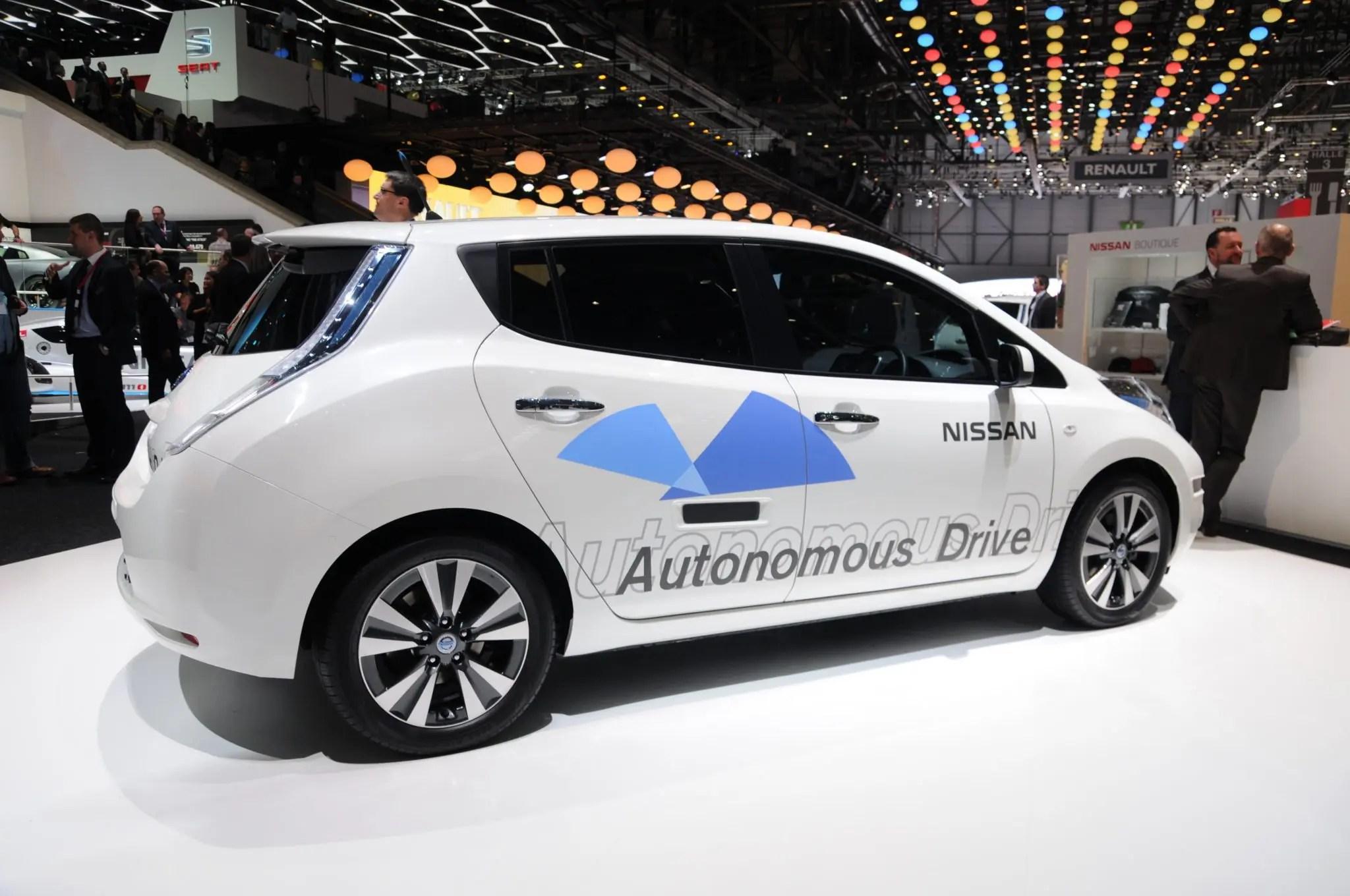Nissan unveils new autonomous vehicle tech during CES
