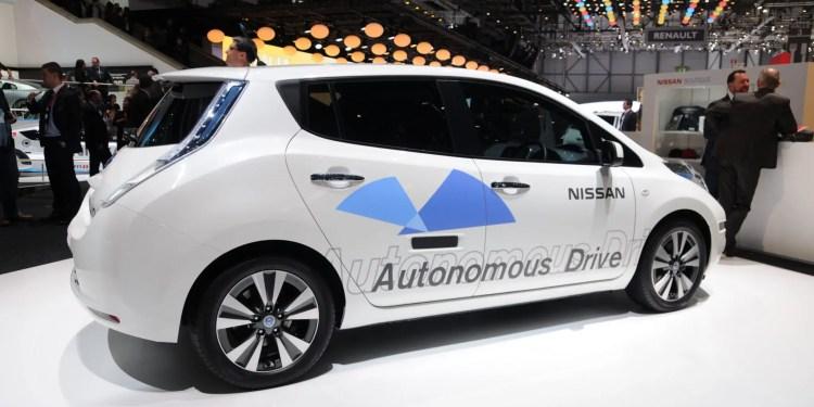 nissan autonomous vehicle